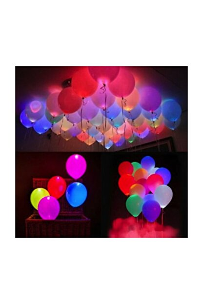 COMPANERO SHOP Led Işıklı Balon Seti (5 Adet)