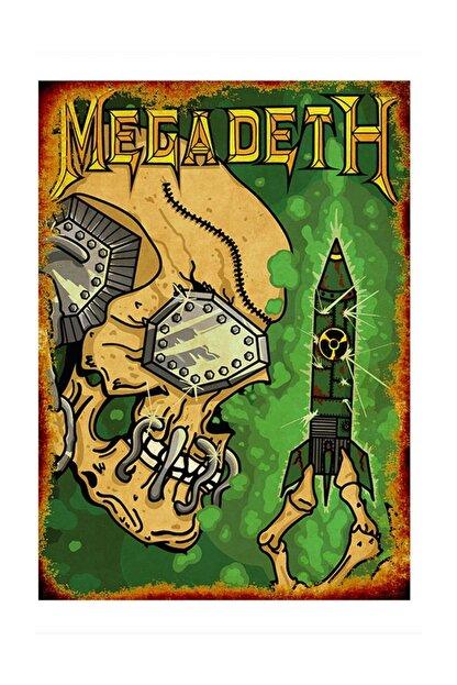 Tablomega Megadeth Modern Mdf Tablo