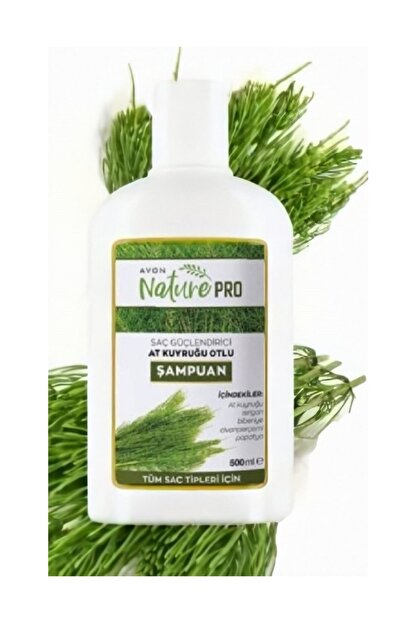 Avon Nature Pro At Kuyruğu Otlu Şampuan