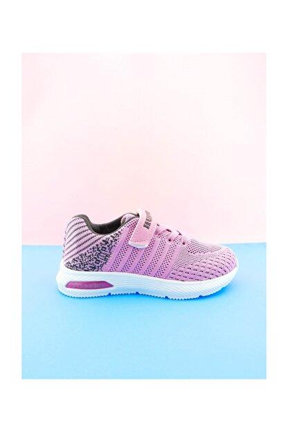 Aymood Bağcıklı Cırtlı Spor Ayakkabı 218