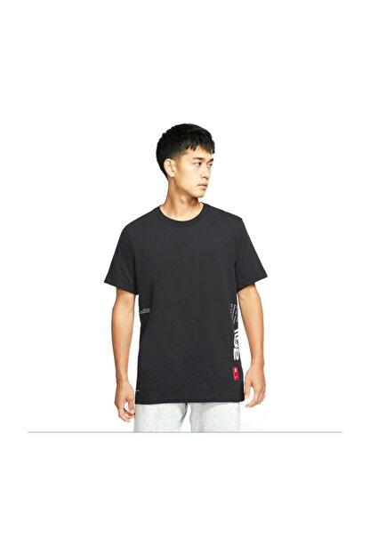 Nike Erkek Siyah Tshirt Cd0927-010