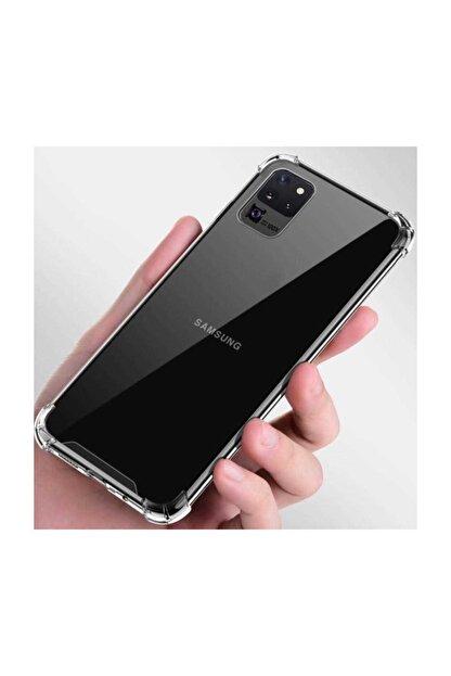 Dijimedia Samsung Galaxy S20 Ultra Kılıf Şeffaf Köşe Korumalı+ekran Koruyucu