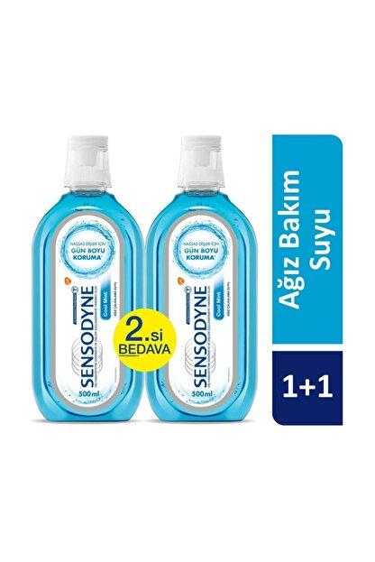 Sensodyne Cool Mint Ağız Bakım Suyu 1+1