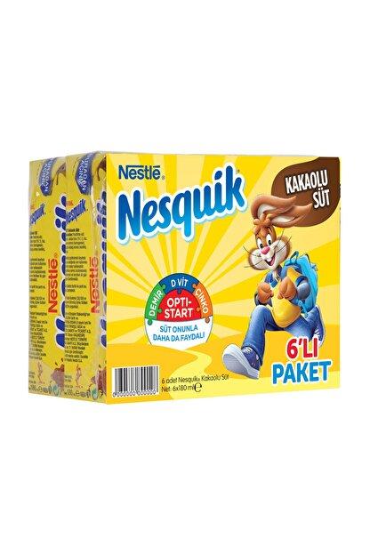 Nesquik Nestle Nesquik Kakaolu Süt 6X180 Ml