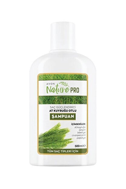 Avon Naturepro At Kuyruğu Otlu Şampuan 500ml