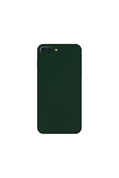 KAPAK OLSUN Iphone 7 Plus Yeşil Kadife Telefon Kaplaması