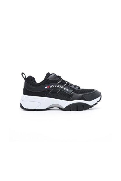 Tommy Hilfiger Heritage Erkek Siyah Spor Ayakkabı