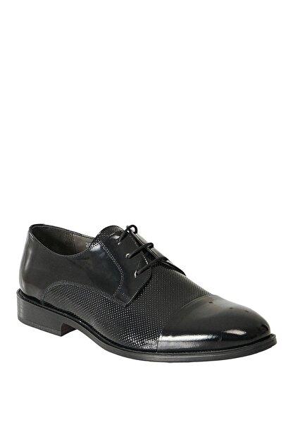 Altınyıldız Classics Erkek Siyah Klasik Rugan Ayakkabı