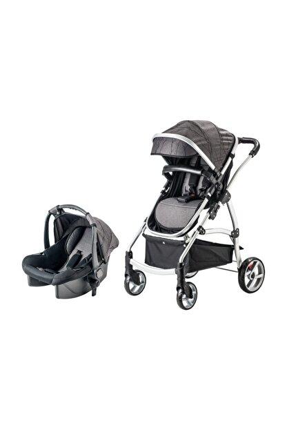 Snopy Trio Travel Sistem Bebek Arabası Siyah (s)