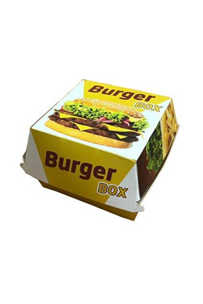 GİZPAK Hamburger Kutusu Küçük 9x9x7cm