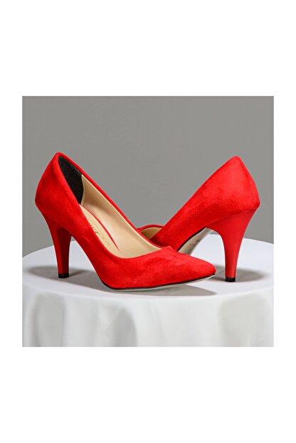 Gold Step Kadın Kırmızı Stiletto