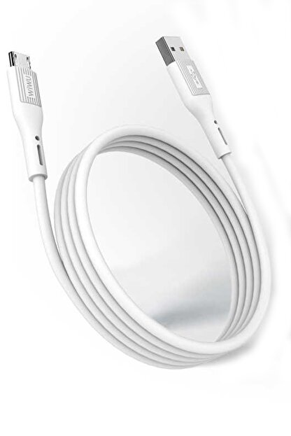 Aksesuarcım Sony Xperia Xa1 Orjinal Wiwu Şarj Aleti Usb Kablo Kopmaz Kırılmaz Type-c Hızlı Şarj 2.4a Amper