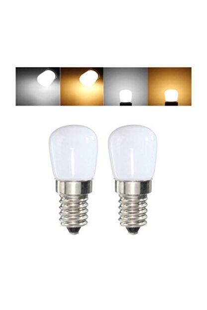Cata Tuz Lambası Buzdolabı Ampulü Led Ampul 2 Watt E14 Duy Beyaz Işık