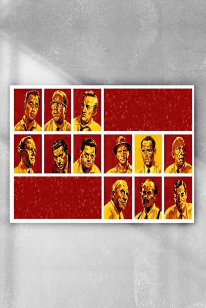 Postermanya 12 Angry Men Film Afişi Poster 4
