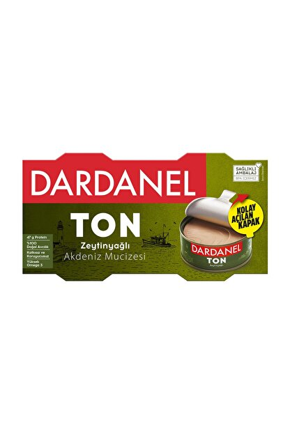 Dardanel Zeytinyağlı Ton Balığı 2X150 G