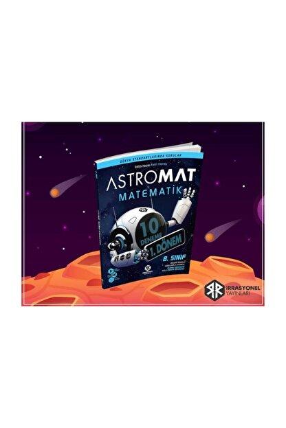 İrrasyonel Yayıncılık Astromat Yayınları 8.sınıf 1.dönem Matematik 10'lu Denemesi