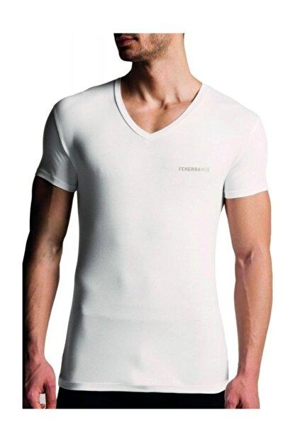 Rolypoly Erkek Beyaz Fb Lisanslı Kısakol Modal Atlet