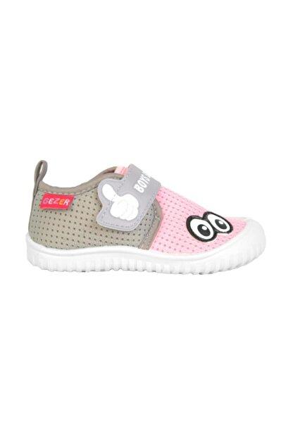 Gezer 03035 Pembe Cırtlı Yazlık Kız Çocuk Spor Ayakkabı