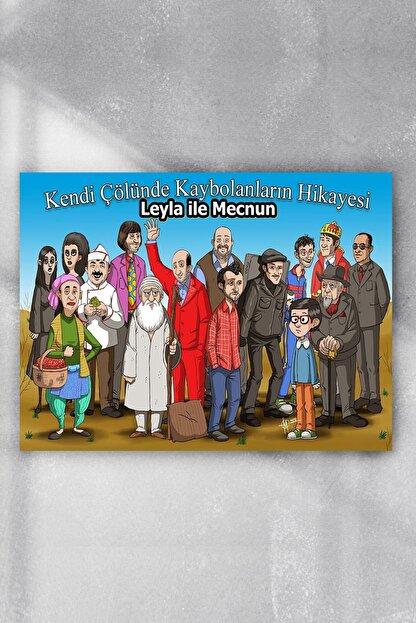 Postermanya Leyla Ile Mecnun Dizi Afişi Poster 7 (90x130cm)