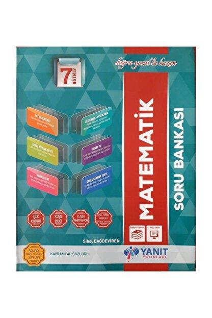 Yanıt Yayınları 7.sınıf Matematik Soru Bankası