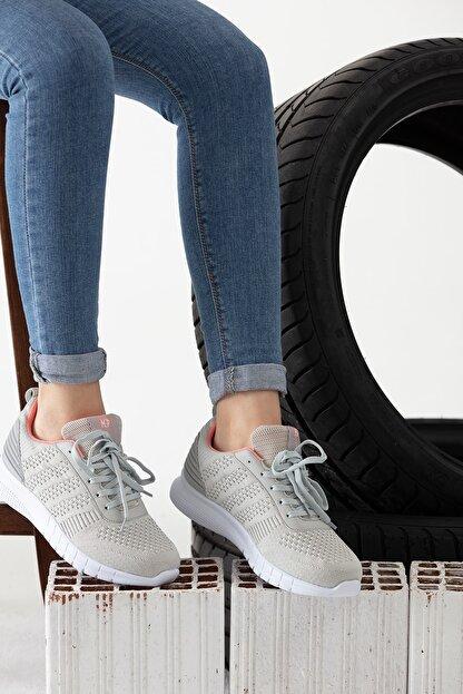 MP Gri Kadın Sneaker MODAELYSA0496