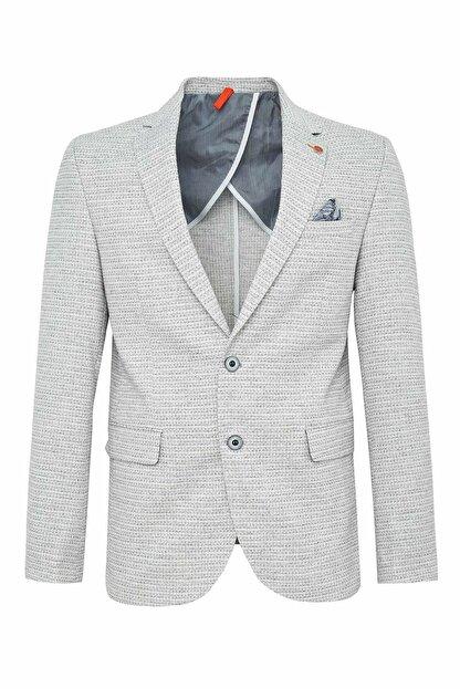 Defacto Erkek Bej Slim Fit Blazer Ceket N6032AZ.20SM.BG26