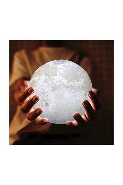 Skygo 3d Ay Şeklinde Dekratif Gece Lambası Masa Lambası