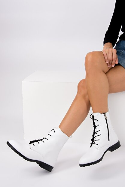 Fox Shoes Beyaz Kadın Bot E288496009
