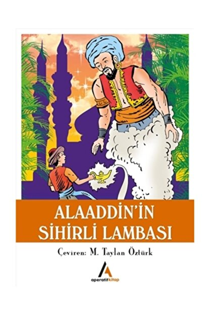 Aperatif Kitap Yayınları Aladdin'in Sihirli Lambası