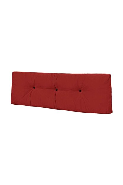 Dekoro Naz İç Mekan Palet Uzun Sırt Minderi Kırmızı