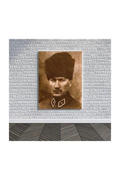 2K Atatürk Kanvas Tablo-h0003 Mustafa Kemal Atatürk Kanvas