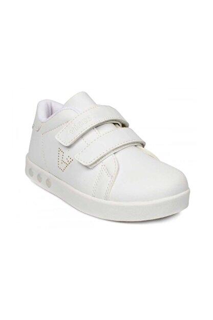 Vicco Kız Çoçuk Beyaz Oyo Işıklı Spor Ayakkabı