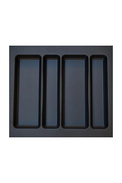 Arwino Antrasit Koyu Gri Lüx 55 x 49 cm Çekmece Içi Kepçelik - 50 x40 cm' Ye Kadar Kısalır