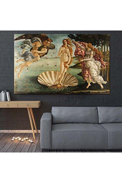 Canvas701 Venüs'ün Doğuşu, Sandro Botticelli Kanvas Tablo (Ölçü: 70x100cm)