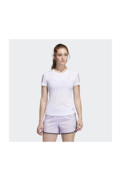 adidas Kadın Beyaz T-shirt Fm5812 Own The Run Tee