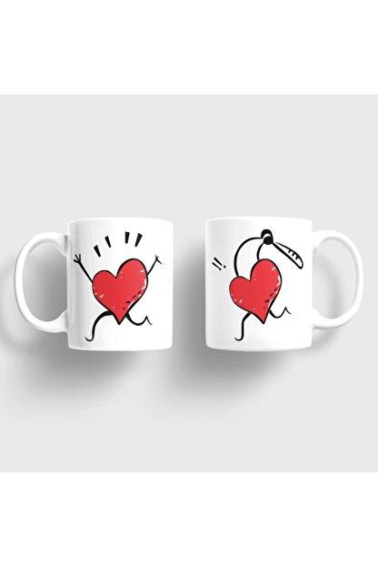 Bilge Hediyelik Aşkını Kovalayan Kalp Kupa Takımı