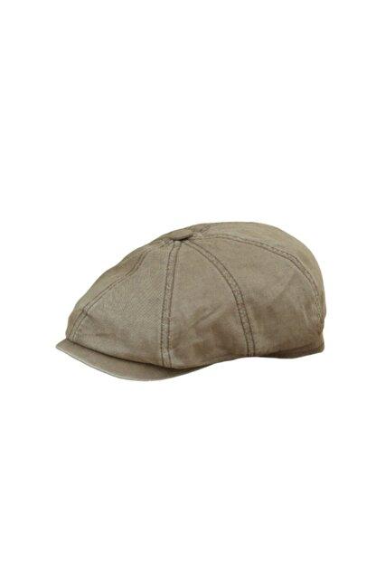 CosmoOutlet David Beckham Model Peaky Blinders Yazlık Kasket Şapka [açık Kahve]