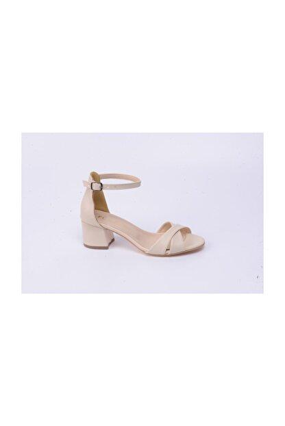 Ayakkabin11 Kadın Topuklu Tek Bant Ayakkabı