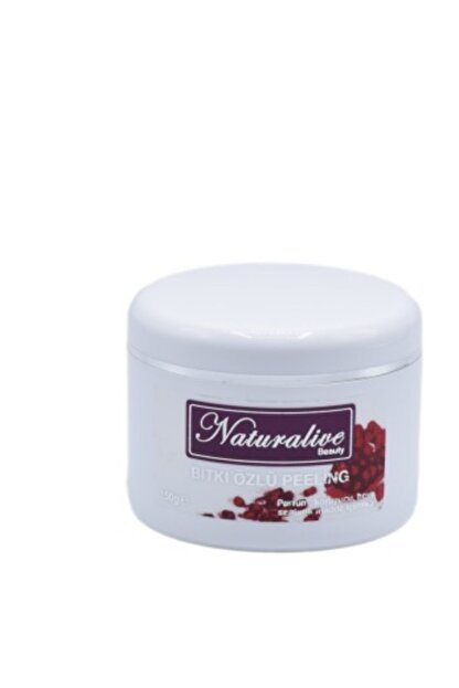 Naturalive Bitki Özlü Peeling 150 ml Badem Yağlı, Doğal, Cilt Yenileyici + Bakım