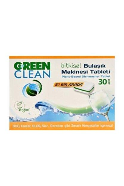 Green Clean Bitkisel Bulaşık Makinası Tableti 30 Adet 8690588005546