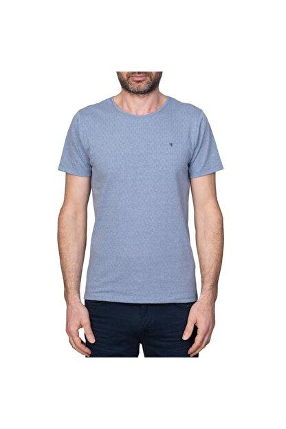 White Stone Nagoya Sıfır Yaka Slim Fit T-shirt Laci