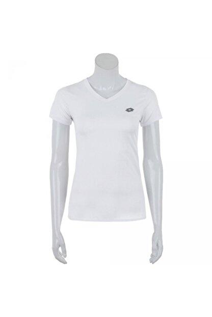 Lotto Kadın Beyaz T-Shirt R0892