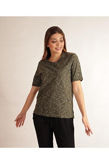 ALEXANDERGARDI Cep Detaylı, Yirtmaçli Regular Kalıp T-shirt