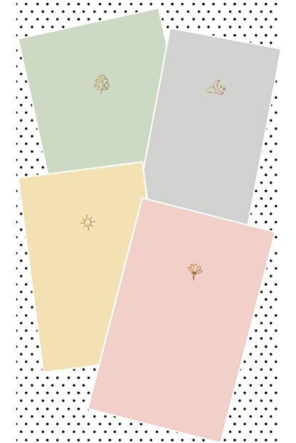 AKILLICA Notebook 4'lü Defter Set Soft