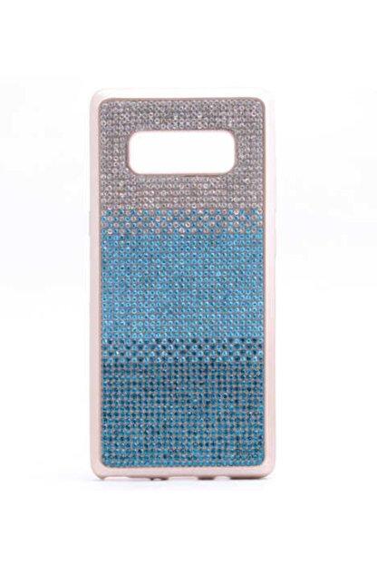 Dijimedia Galaxy Note 8 Kılıf Mat Lazer Taşlı Silikon
