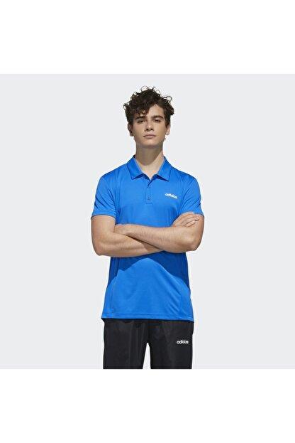 adidas Erkek Mavi Spor T-Shirt