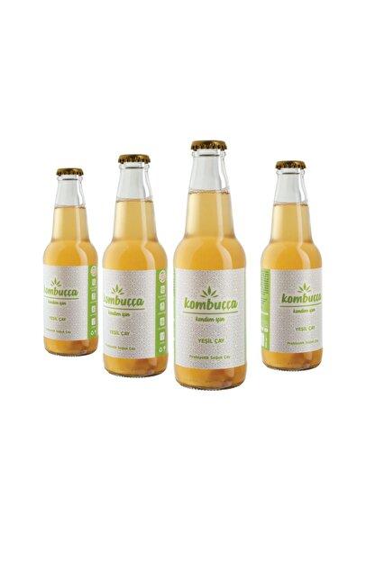 Kombuçça Yeşil Çay 4'lü Paket (ücretsiz Kargo) Kombucha - Kombuça - Probiyotik Kombu Çayı