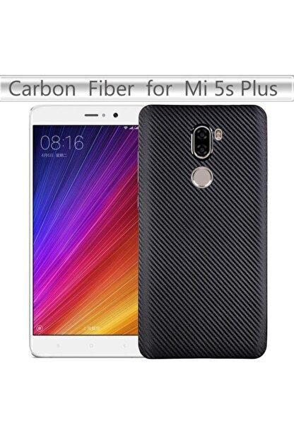 Zore Xiaomi Mi 5s Plus Kılıf I- Karbon Silikon