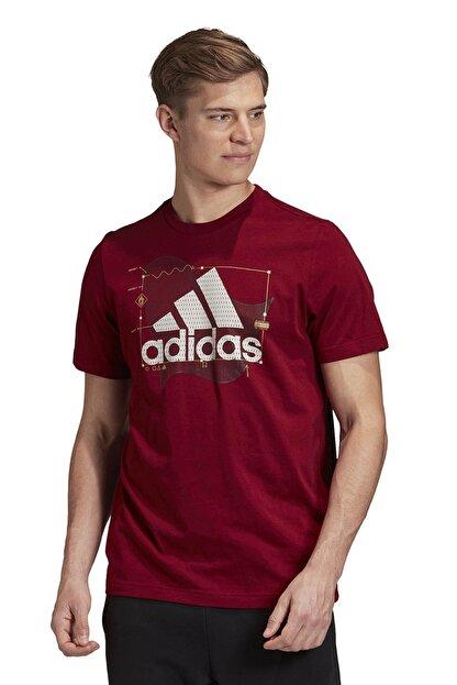 adidas Erkek Spor T-Shirt -  Universal Bos  - GE4709