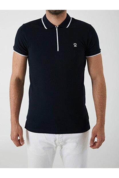 Ltb Erkek Lacivert Rıgosı Polo Yaka T-shirt